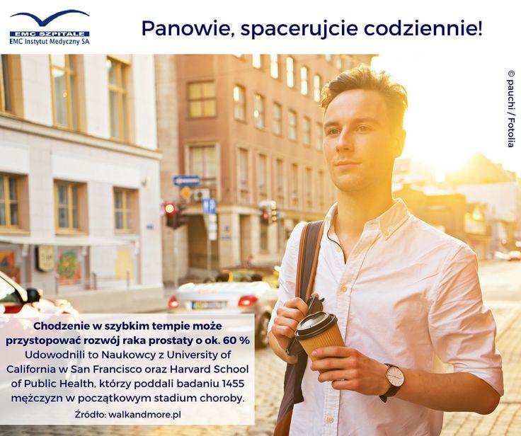 Spacer to samo zdrowie! Naukowcy odkryli też, że ma on szczególnie dobre właściwości dla panów :) #emc #emcszpitale