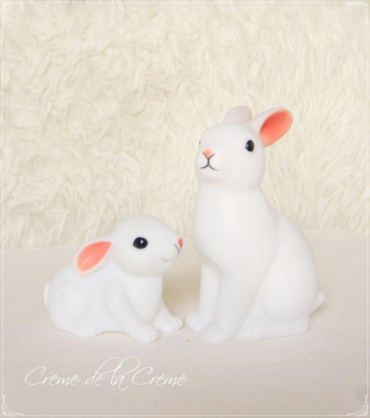 Lampki króliczki scandi