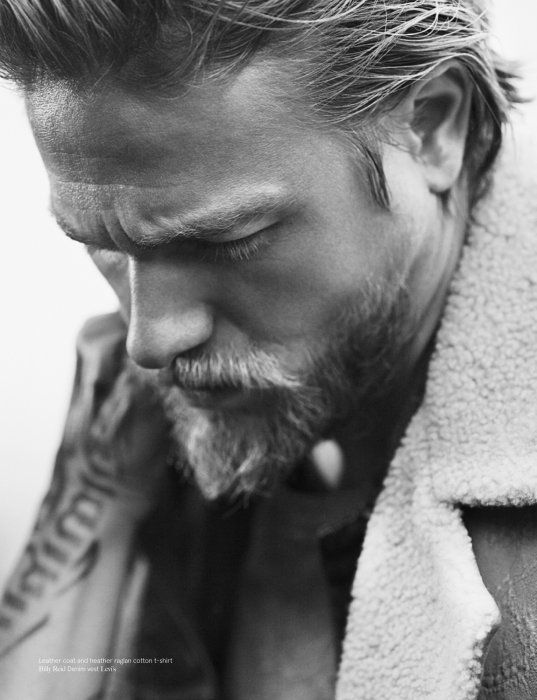 vogue charlie hunnam | Man of The World, January 2013