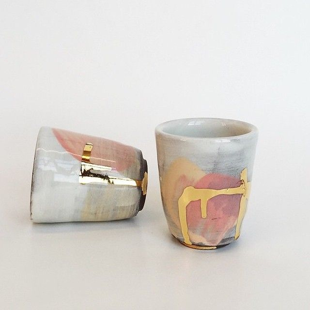 Ceramic Cups by Romy Northover