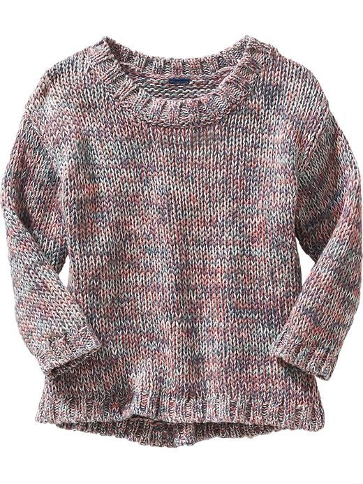 Marled A Line Sweater For Baby
