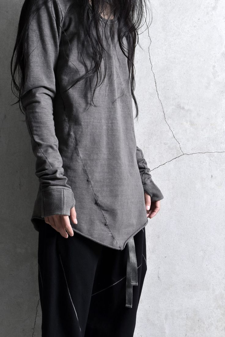 Visions of the Future // deviant blog - A.F ArteFact MULTISEAM SUMI-DYED T OVERLOCKED