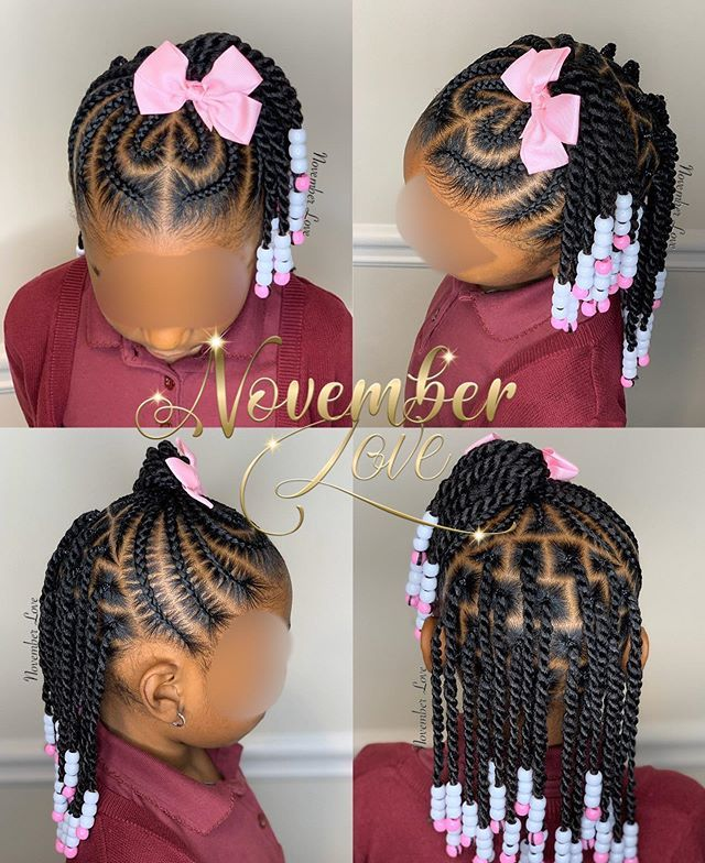 Toddler Braided Hairstyles With Beads New Natural Hairstyles Cool Braid Hairstyles Hair Styles Toddler Braided Hairstyles