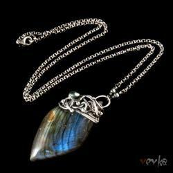 oryginalny,labradoryt,wisior,vevka - Wisiory - Biżuteria