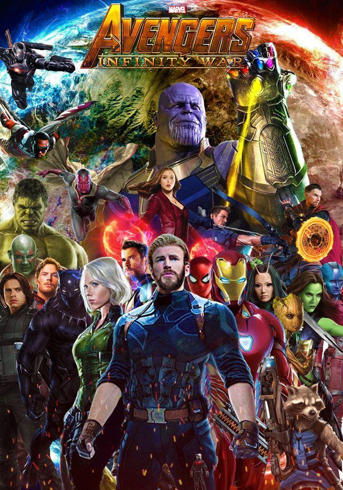 Avengers Infinity War Poster By Https Dcomp Deviantart Com On