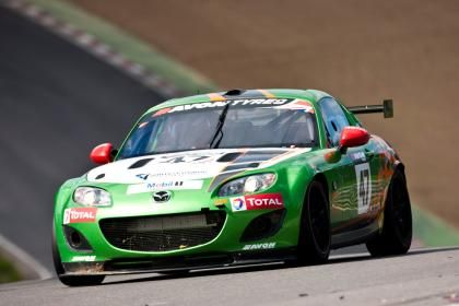Mazda Appeases Racing Enthusiasts with MX-5 GT4 Race Car