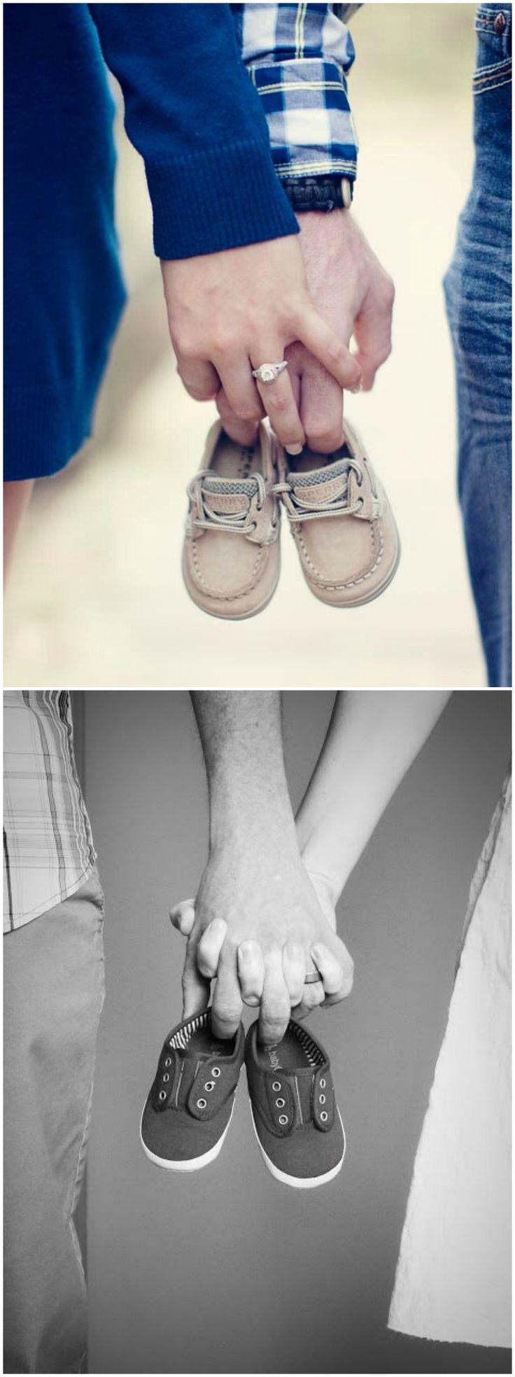 Anunciar el embarazo. Visto en www.accesoriosbeb…