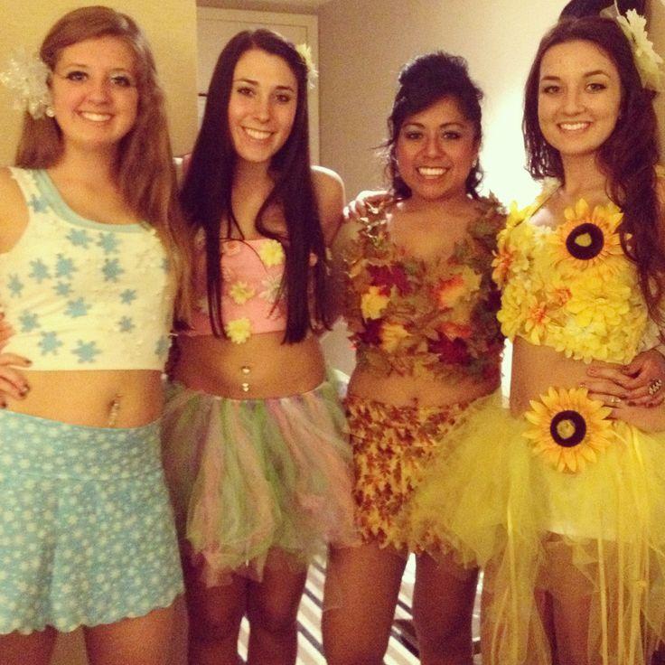 Four seasons Halloween costume!