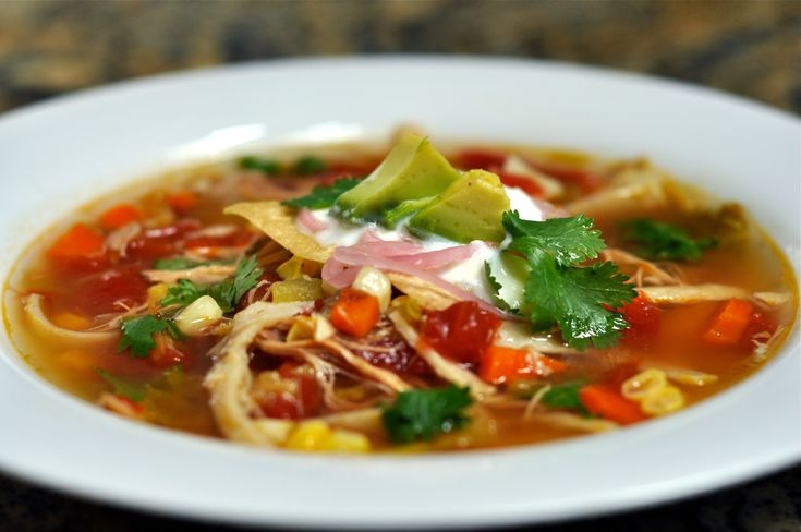 Recipe For Tortilla Soup III - In a large skillet over medium high heat, combine the ground beef and onions and saute for 5 minutes, or until beef is browned. Drain excess fat and set meat aside. In a large pot over high heat, combine the broth, tomatoes, cumin and …