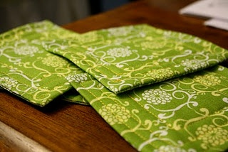 Fat quarter coasters sewing tutorial