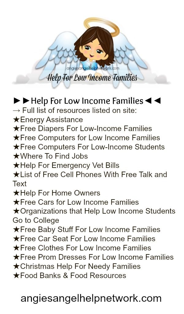 Best Help For Low Income Families Images On   Nursing