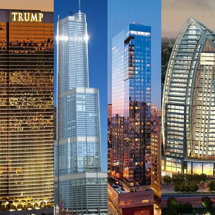 Architecture meets politics... We had to share some of our favourite Trump hotels.  #vegas #chicago #soho #baku  #trump #2016 #usa #election2016 #hotel #architecture #designjobs #insta #photooftheday #instapic #luxury #nyc