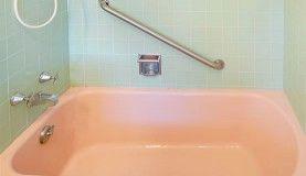 Before bathtub refinishing