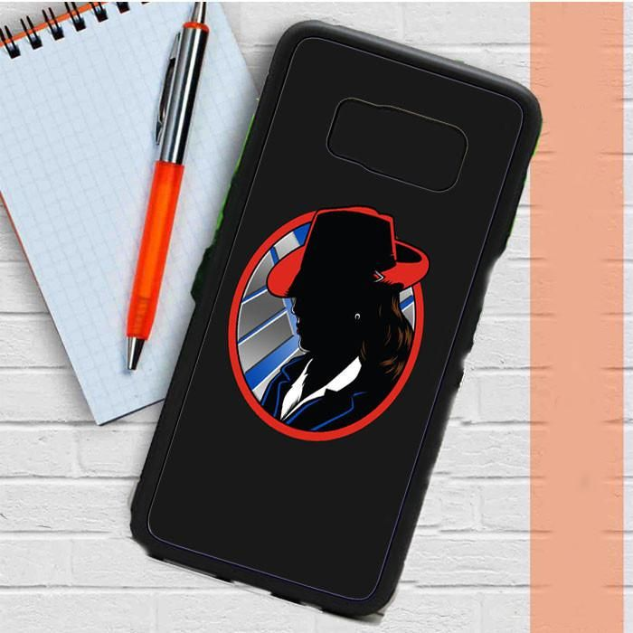 Agent Carter Captain America Samsung Galaxy S8 Plus Case Dewantary