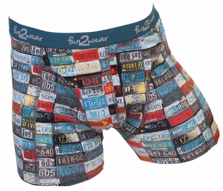 Grappige boxer van Fun2wear!! Boxershorts al vanaf € 5,95. Neem eens een kijkje op mijn website en laat je verrassen! http://www.silondergoedenlingerie.nl/