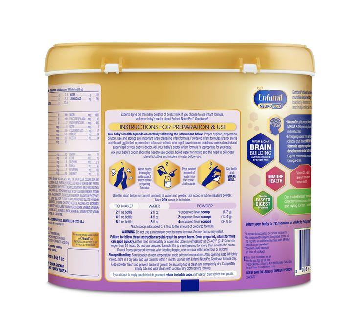 Enfamil NeuroPro Gentlease Infant Formula Powder 19.5oz