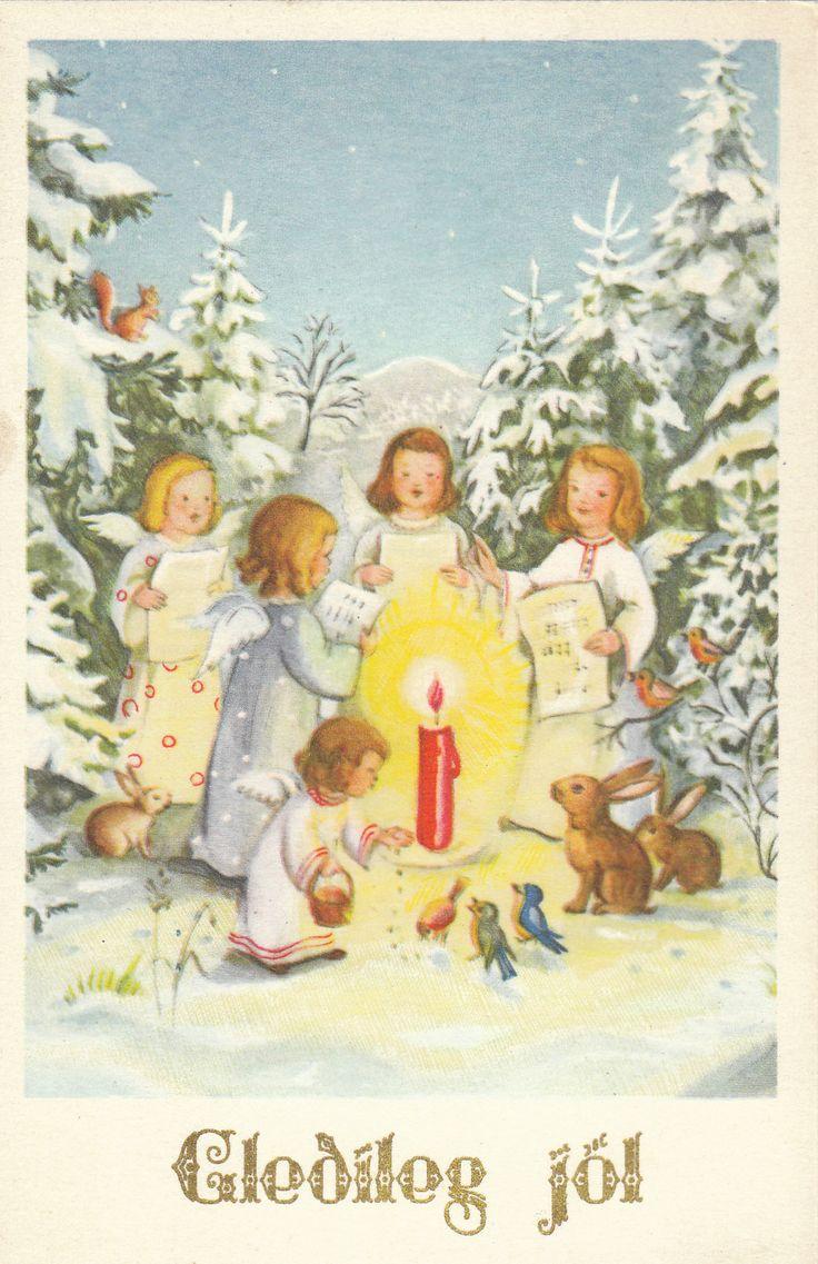 27 best Jól í gamla daga images on Pinterest | Happy holidays ...