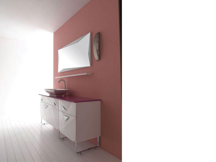 """DIAMOND"" BATHROOM FURNITURE,home,new,interior design,accesories,set,new,style,bath,tiles,product,idea,decoration,woman,mirror,porcelain,επιπλα white,pink,μπανιου,μπανιο,νιπτηρας,καθρεπτης,πλακακια,idea,spa,architecture,decoration"