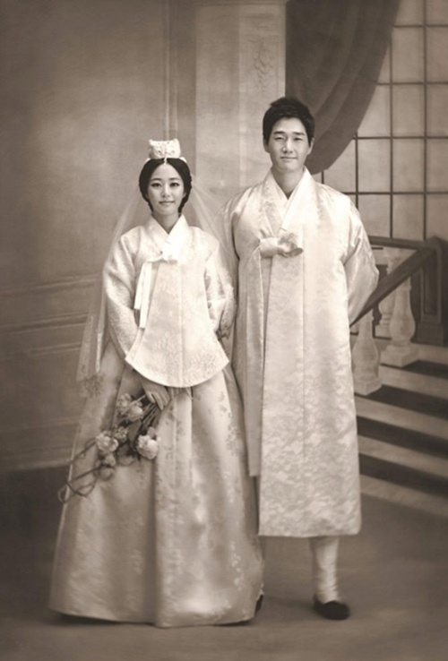 wedding hanbok