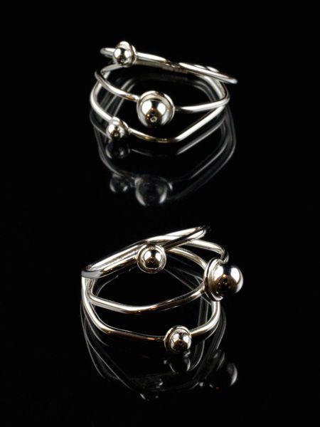 Satellite of Love Rings by Jewellery Designer Tytti Lindström