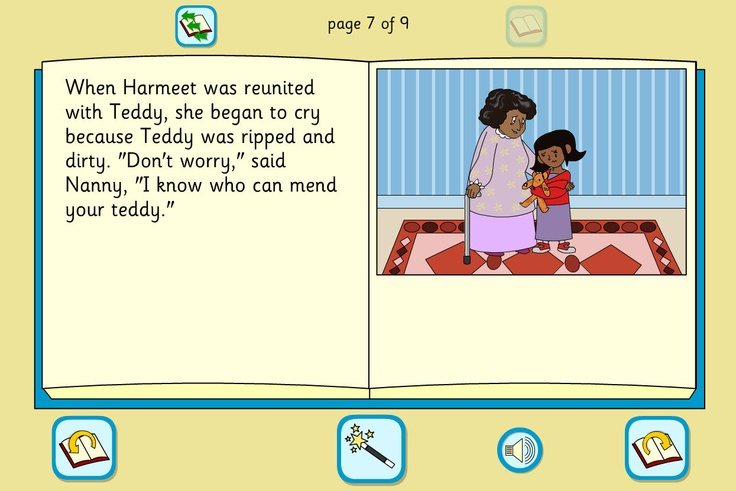 Harmeet's Teddy Story Book: An interactive story using a familiar setting, with a simple text, colourful illustrations and full sound support.