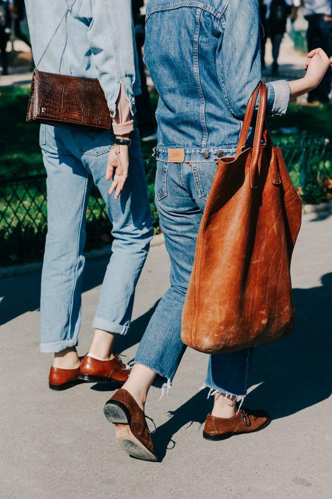 Street looks à la Fashion Week printemps-été 2016 de Paris  © Dan Roberts