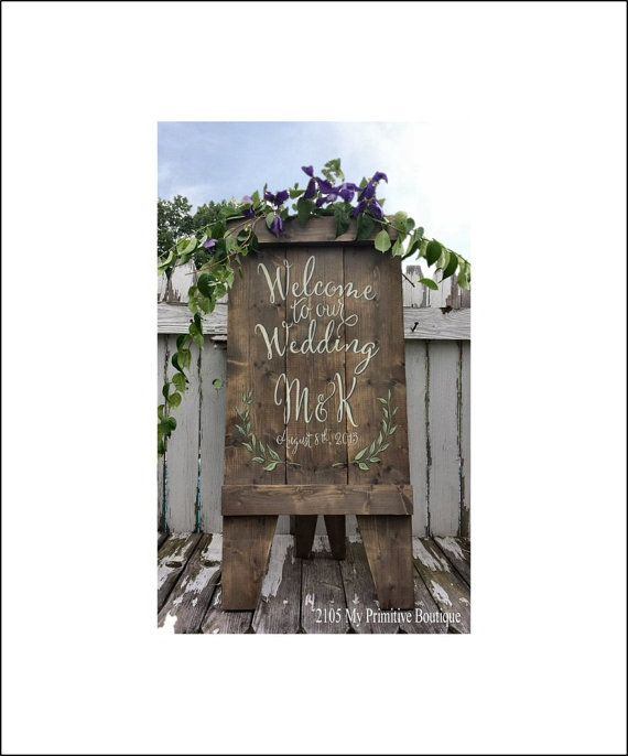 Custom Wedding Sign, A Frame Sign, Aged Wood, Wooden Easel, Sandwich Board, Store Sign, Business Sign, Rustic Sign, Self Standing Sign