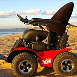 Super rugged all terain power chairs 4x4 all for All terrain motorized wheelchairs