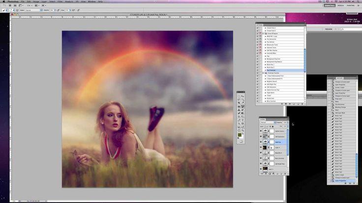 "Jessica Drossin Edits the Photo ""Laura's Rainbow"""