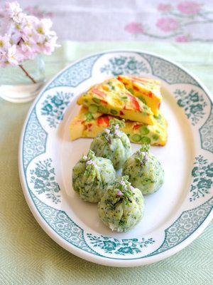 【ELLE a table】グリーンピースとパプリカのオムレツ&ブロッコリーポテトレシピ|エル・オンライン