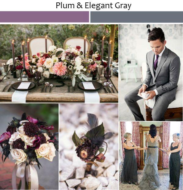 Best 25 Plum Wedding Decor Ideas On Pinterest Dark Purple Centerpieces And Fall Colors