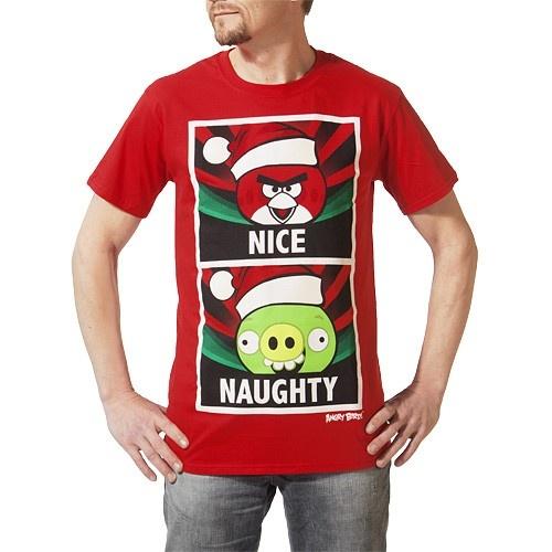 Angry Birds - Nice & Naughty T-Shirt L