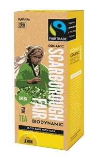 Scarborough Fair - Green Tea with Lemon.  Check this and heaps more #Fairtrade products out here: http://fairtrade.org.nz/en-nz/buying-fairtrade-products #tea
