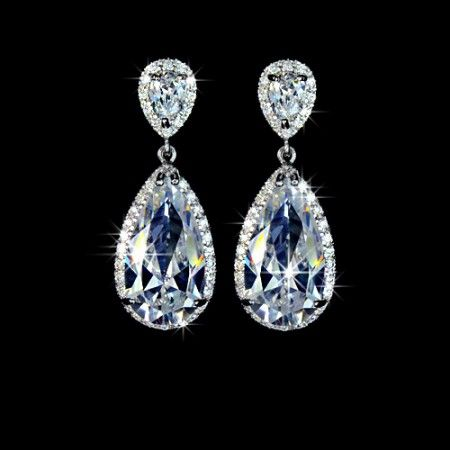 Boucles-d-oreilles-plaque-or-blanc-forme-goutte-d-eau-elegance-Zirconium-Diamant-mariage-cocktail-soiree-boucleso7