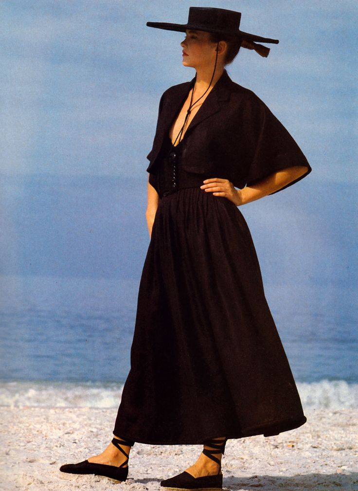 Perry Ellis, American Vogue, February 1983.