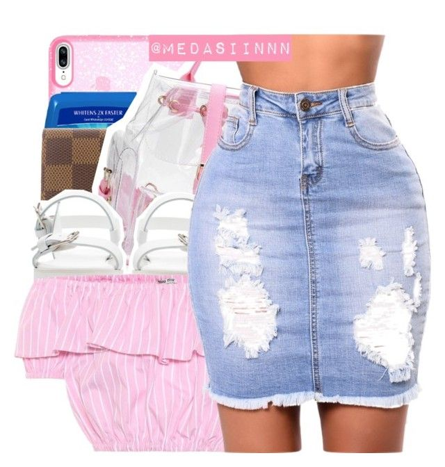 """""""Brb"""" by medasiinnn ❤ liked on Polyvore featuring Speck, Louis Vuitton, Zara and Miu Miu"""