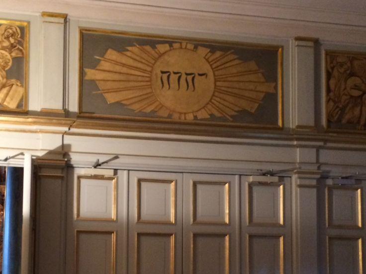God's name in Gamla Stan in Stockholm