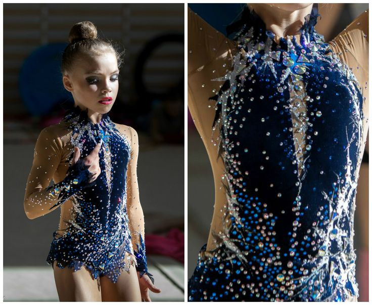 Rhythmic gymnastics leotard (photos by Matveev)