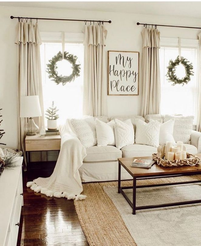 31 The Basics Of Diy Farmhouse Curtains Living Room Design