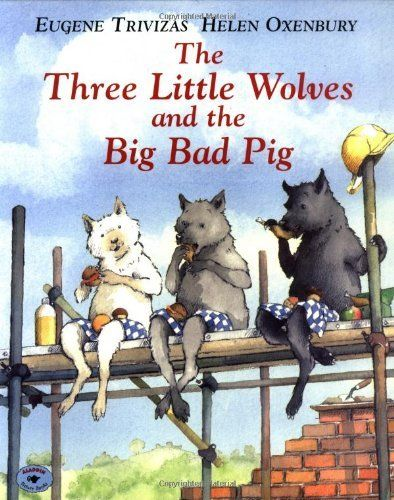 Adjectives - The Three Little Wolves and the Big Bad Pig by Eugene Trivizas, http://www.amazon.com/dp/068981528X/ref=cm_sw_r_pi_dp_pE3eqb04KKT38