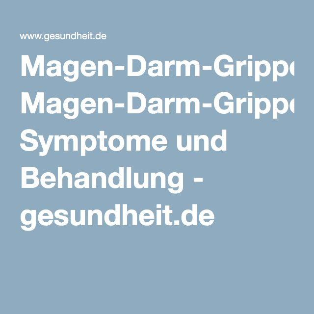 Magen-Darm-Grippe: Symptome und Behandlung - gesundheit.de