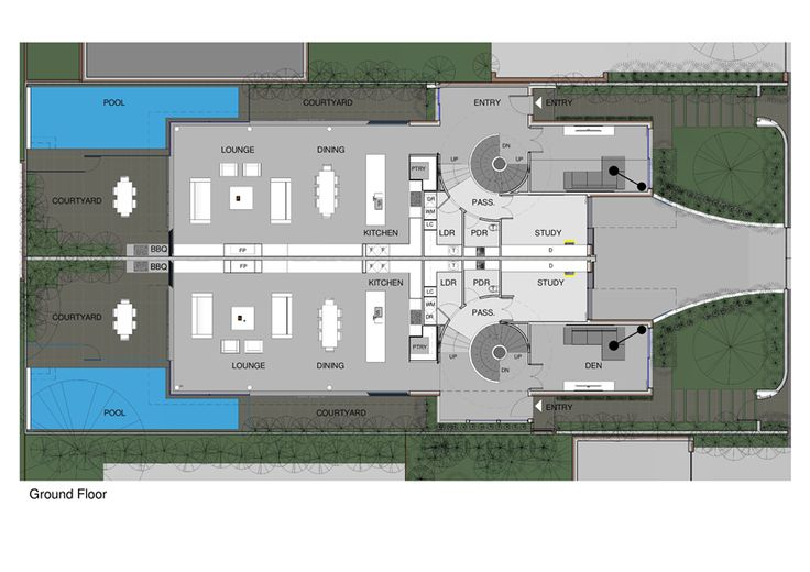 Perfect Modern Townhouse by Martin Friedrich Architects   2015 Wedding