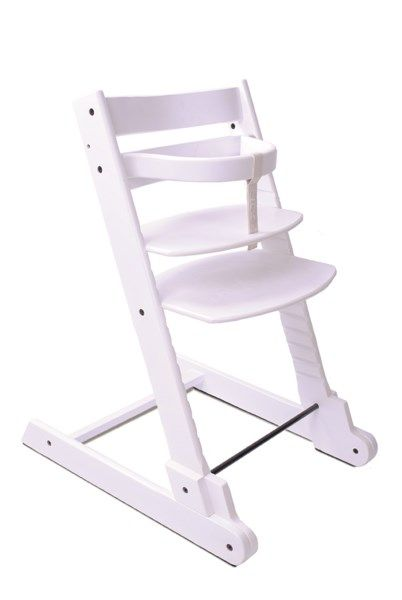 Chaise haute evolutive Baby Ace Blanche