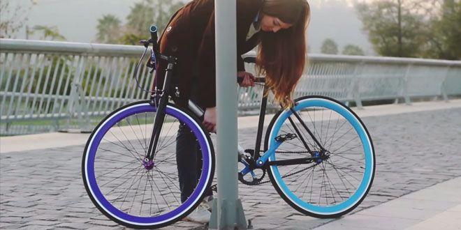 Yerka es la bicicleta que se convierte en un gran candado http://j.mp/1K52fpy |  #Bicicleta, #Chile, #Sobresalientes, #Yerka