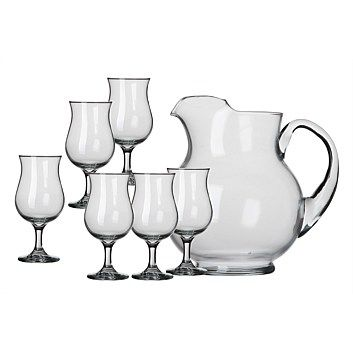 Food Storage Containers - Briscoes - Libbey San Vicente Sangria Set 7pc