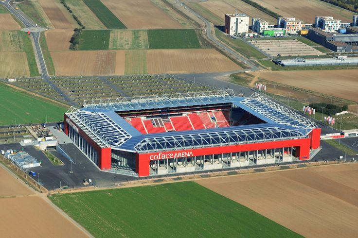 FSV Mainz 05 Coface Arena Capacity: 34.034