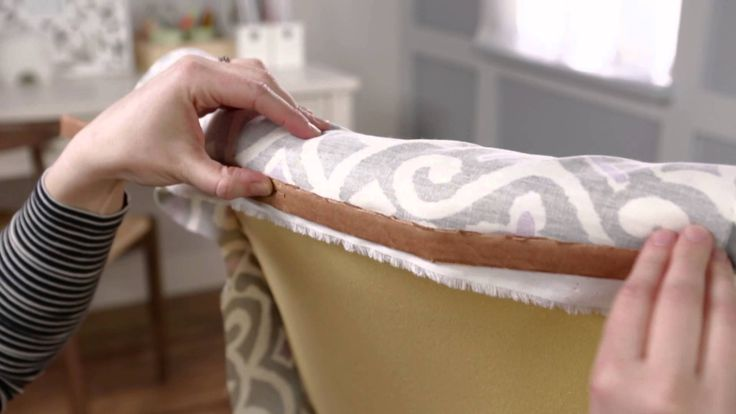 Reupholstering a chair can be a bit of a challenge, but these tips and tricks will show you how to successfully reupholster a piece of furniture. Subscribe t...