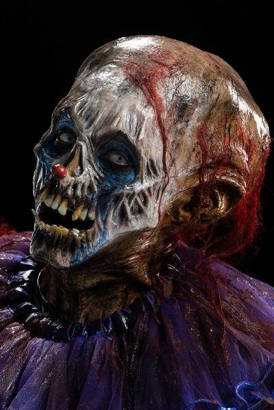 Cig's clown was inspired by his fear of dark water. Credit: Brett-Patrick Jenkins.