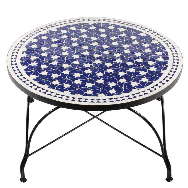 20 besten mosaiktische 80cm bilder auf pinterest runde marokkanisch und mediterran. Black Bedroom Furniture Sets. Home Design Ideas