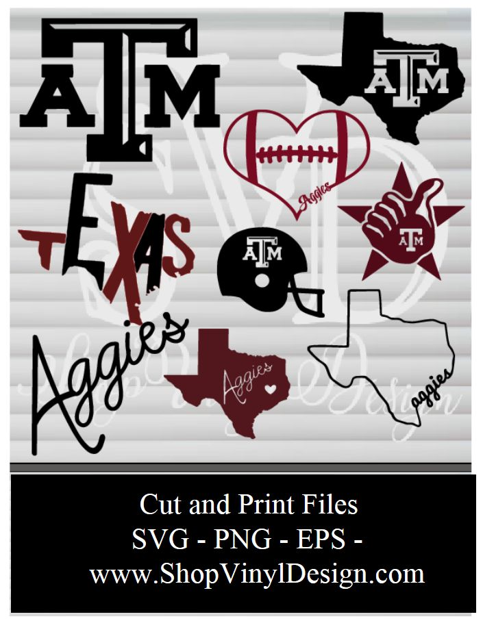 18 Best Texas A Amp M Images On Pinterest Silhouette